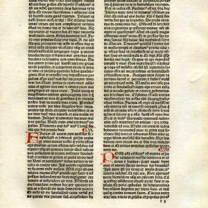 Biblia Sacra – 1482 – Old Testament