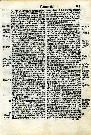Biblia Sacra - 1519 - 2 SAMUEL 8:5-11:20
