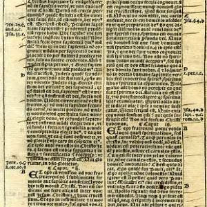 Biblia Sacra – 1531 – 1 CORINTHIANS 1:13-5:7