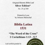Biblia Sacra - 1531 - 1 CORINTHIANS 1:13-5:7