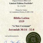 Biblia Sacra - 1519 - JEREMIAH 30:14-32:8
