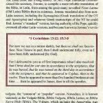 Biblia Sacra - 1519 - 1 CORINTHIANS 13:8-16:2