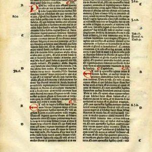 Biblia Sacra – 1482 – REVELATION 2-6