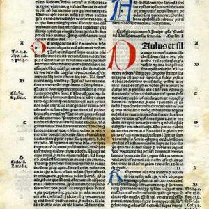 Biblia Sacra – 1484 – 1 THESSALONIANS 1:9-5:28