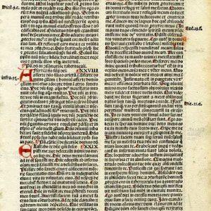 Biblia Sacra – 1500 – PSALMS 27-34