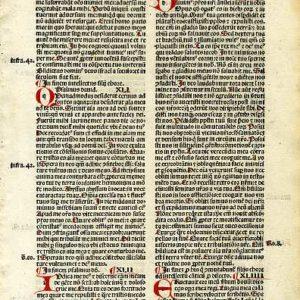 Biblia Sacra – 1500 – PSALMS 40-48