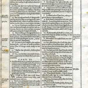 King James – 1613 – 2 CORINTHIANS 8:22-11:21