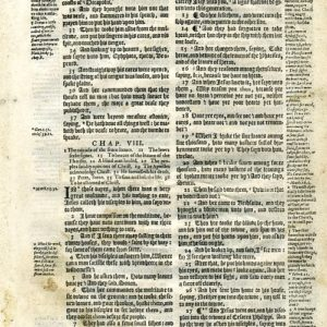 Geneva – 1616 – MARK 7:31-9:26