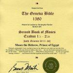 Geneva - 1580 - EXODUS 1:1-2:1