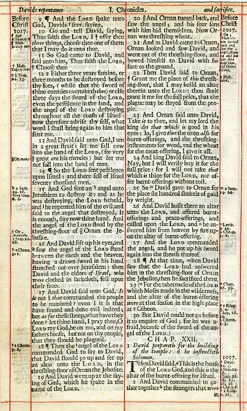 King James - 1703 - Old Testament