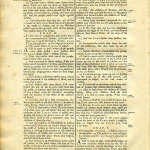 King James (Collins) - 1791 - Old Testament