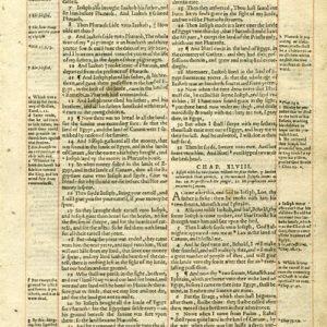 Geneva – 1601 – GENESIS 47:5-49:18