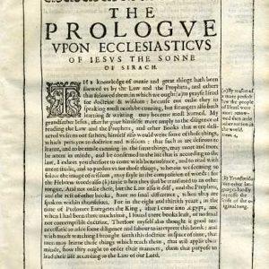 Douay-Rheims OT – 1635 – ECCLESIASTICUS 1
