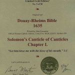 Douay-Rheims OT - 1635 - CANTICLES 1