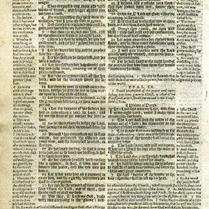 Geneva – 1605 – PSALMS 107:14-110:7