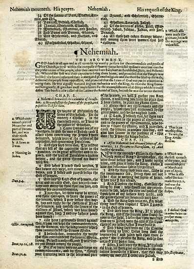 Geneva - 1605 - NEHEMIAH 1:1-2:7