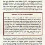 Biblia Sacra - 1250 - NUMBERS 15:11-18:7