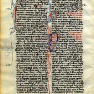 Biblia Sacra – 1240 – PHILIPPIANS 2-4 + COLOSSIANS 1 Title