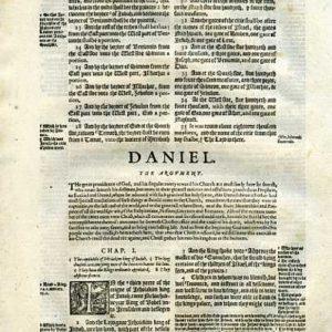 Geneva – 1595 – DANIEL 1:1-2:6