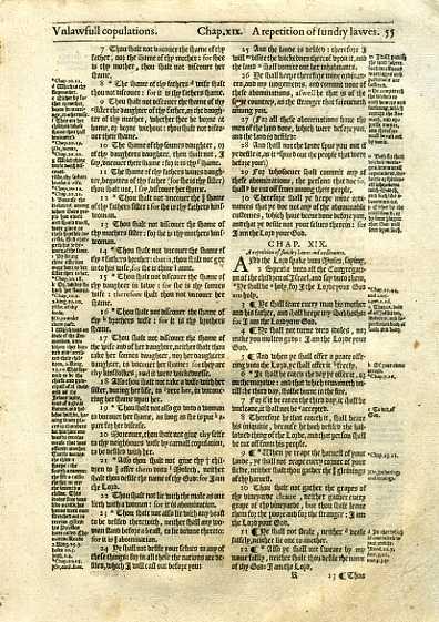Geneva - 1595 - LEVITICUS 18:7-20:6