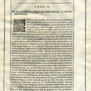 Douay-Rheims OT – 1635 – Apocrypha