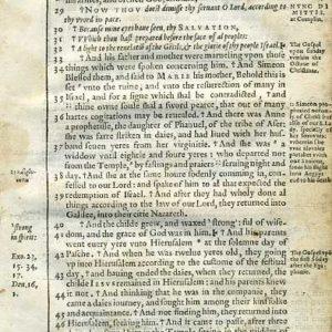 Douay-Rheims NT – 1600 – LUKE 2:26-52