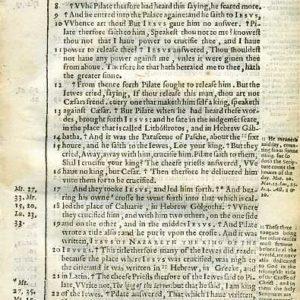 Douay-Rheims NT – 1600 – JOHN 19:6-39