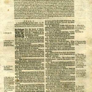 Geneva – 1605 – 2 SAMUEL 1:1-2:32