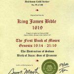 King James - 1619 - GENESIS 19:14-21:19
