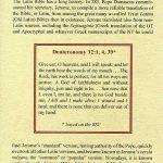 Biblia Sacra - 1250 - DEUTERONOMY 31:7-32:43