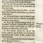 King James - 1619 - 1 CORINTHIANS 8:1-10:28