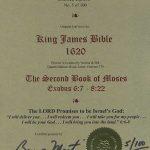 King James - 1620 - EXODUS 6:7-8:22