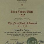 King James - 1620 - 1 SAMUEL 1:1-2:17