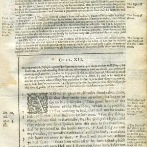 Douay-Rheims NT – 1600 – LUKE 12:1-26