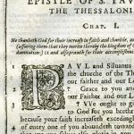 Douay-Rheims NT - 1600 - 2 THESSALONIANS 1:1-2:11