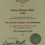 Douay-Rheims NT - 1600 - ROMANS