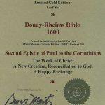 Douay-Rheims NT - 1600 - 2 CORINTHIANS, complete