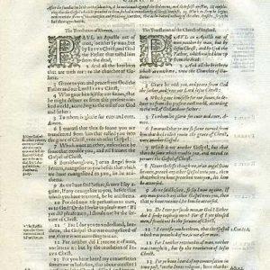 Rheims (Fulke's) – 1601 – GALATIANS 1:1-24, w