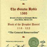 Geneva - 1595 - DANIEL 11:6-12:2
