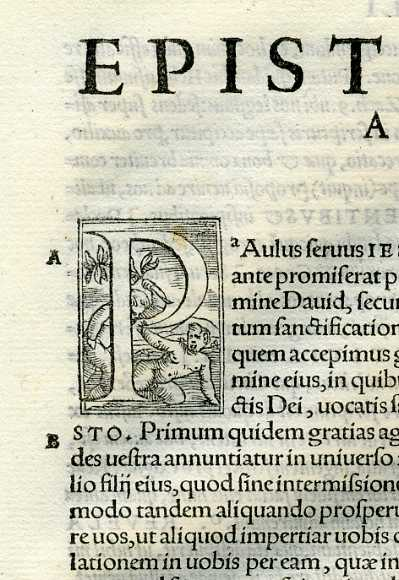 Biblia Sacra - 1542 - ROMANS 1-16, complete