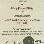 King James - 1620 - LUKE 3:33-5:27