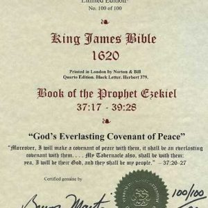 King James – 1620 – EZEKIEL 37:17-39:28