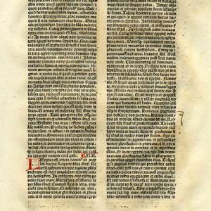 Biblia Sacra – 1482 – EXODUS 13-15