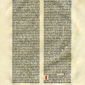 Biblia Sacra – 1482 – EXODUS 16:2-18:25