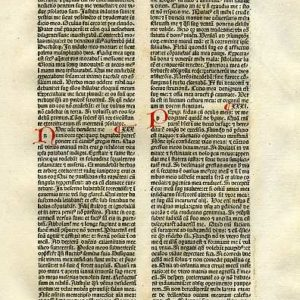 Biblia Sacra – 1482 – JOB 29:11-33:25