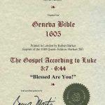 Geneva - 1605 - LUKE 5:7-6:44