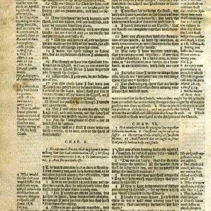 Geneva – 1605 – 1 CORINTHIANS 2:13-6:7