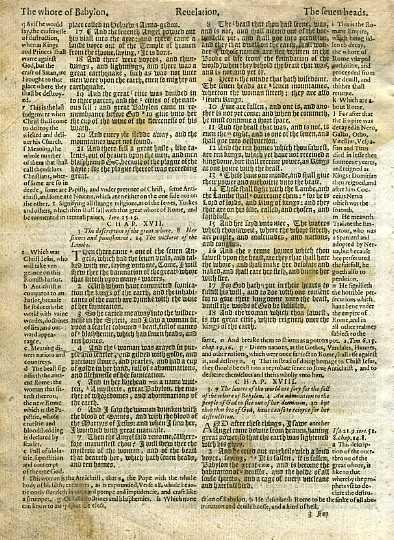 Geneva - 1605 - REVELATION 14:19-18:2