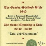 Geneva - 1640 - LUKE 22:42-23:49
