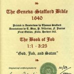 Geneva - 1640 - JOB 1:1-3:25